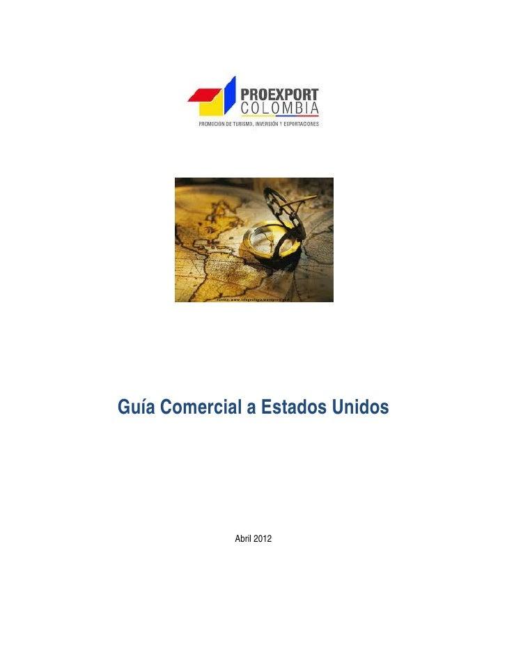 Guia comercial  estados unidos 2012