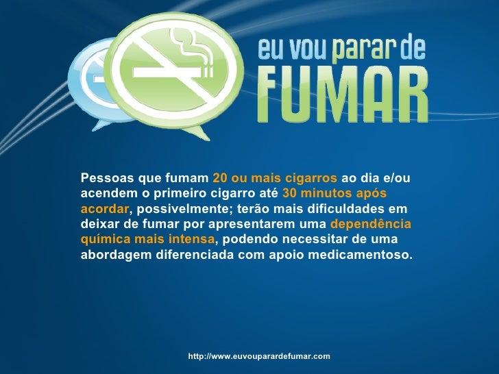 O que compensa a garganta quando deixado fumando