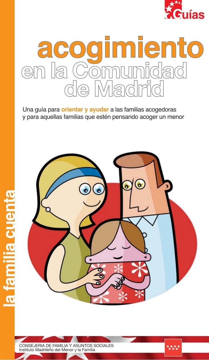 Guia acogimientos comunidad madrid