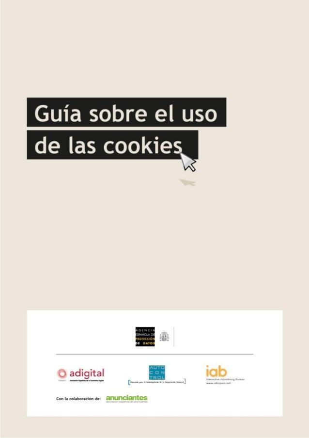 Analisis EU Guia cookies 2013
