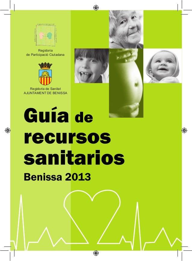Regidoria de Participació Ciutadana   Regidoria de SanitatAJUNTAMENT DE BENISSA