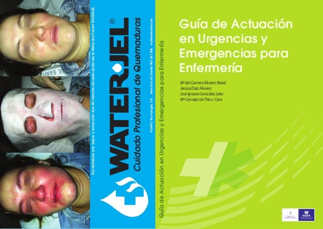 Guía de Actuación en Urgencias y Emergencias para Enfermería  ADARO Tecnología, S.A. Atención al Cliente 985 347 806 water...