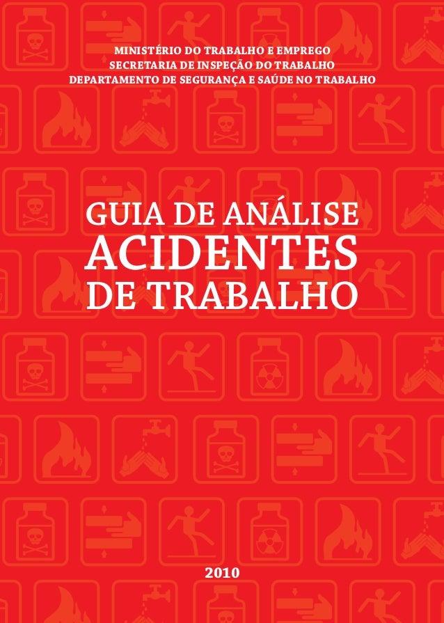Guia de análises de acidentes de trabalho