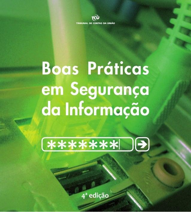 Guia de boas práticas em gestão da segurança da informação