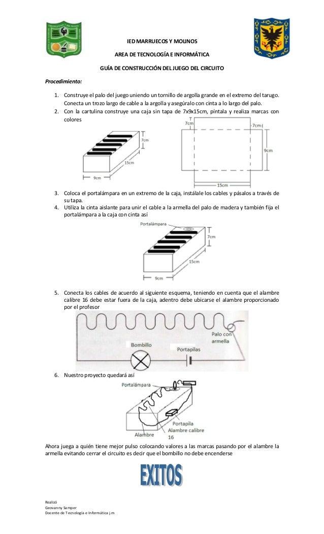 Guia de construcción del juego del circuito