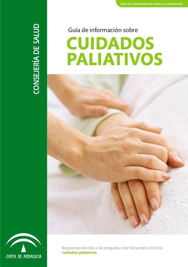 Guia para pacientes sobre cuidados paliativos