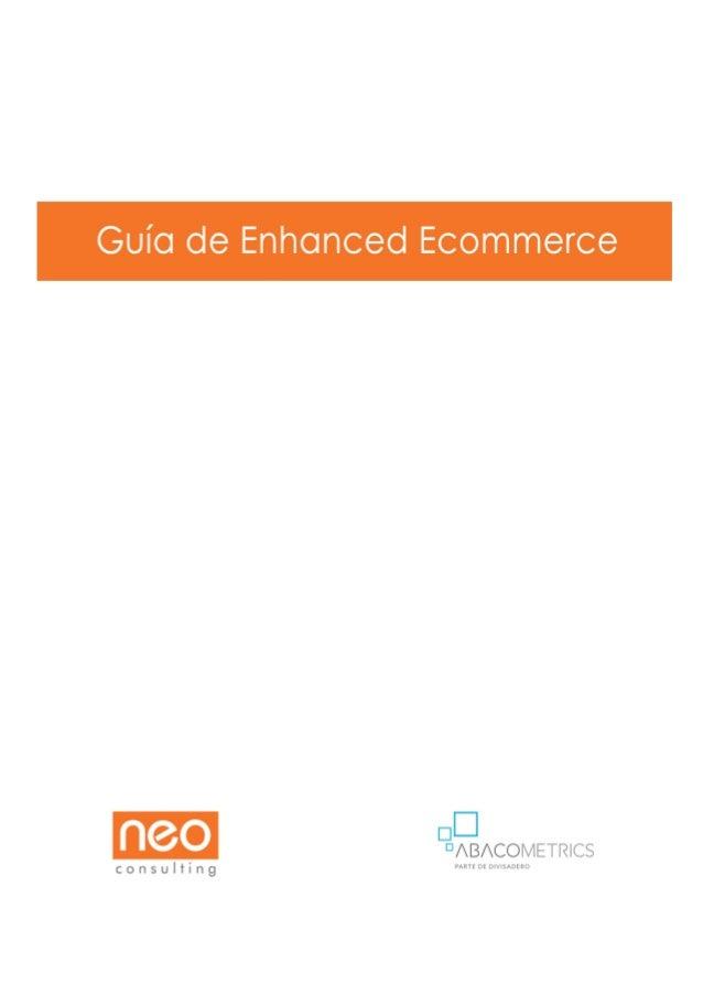 Guía de Enhanced Ecommerce