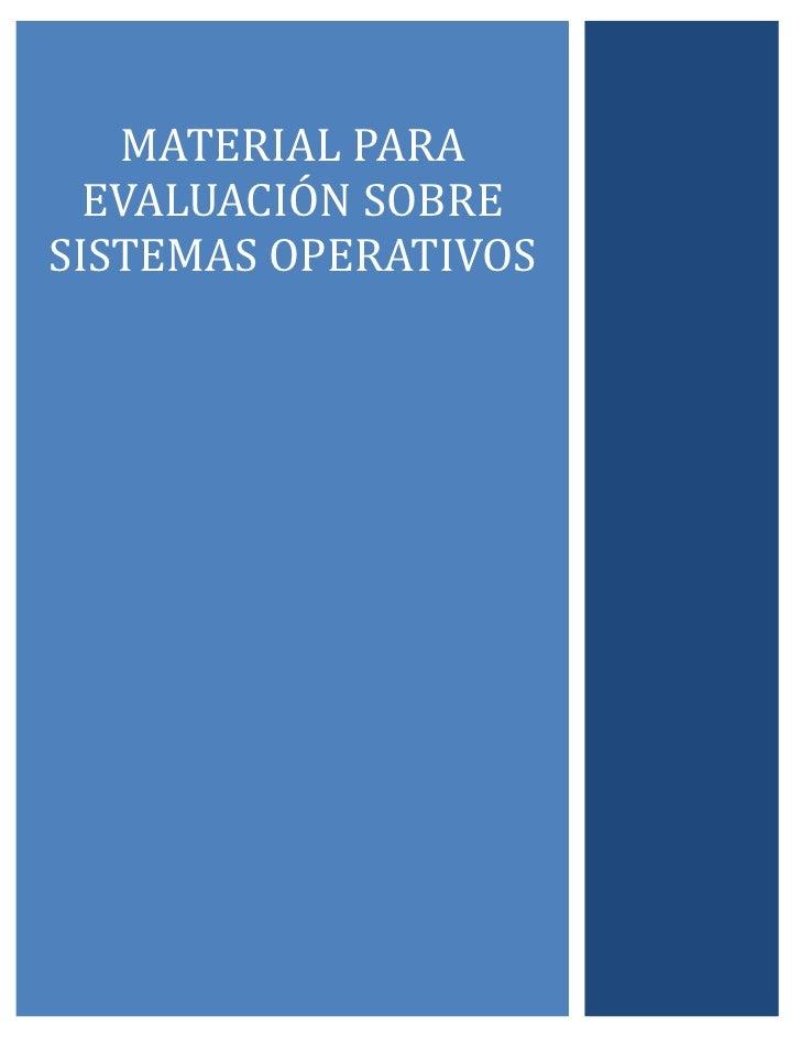 Guia de evaluación sistemas operativos