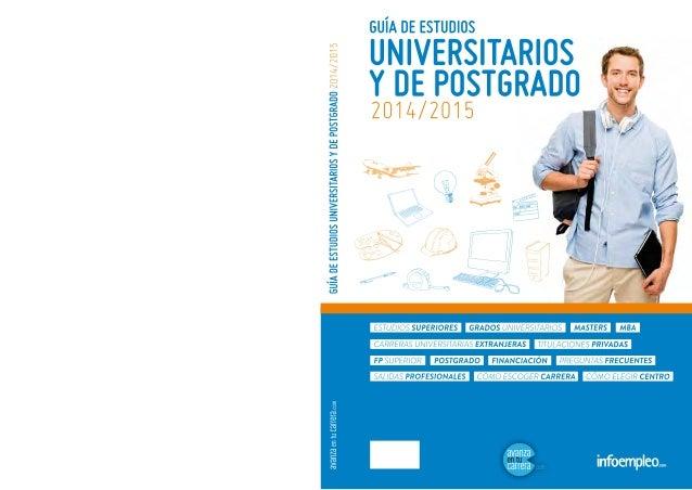 Guia de grados y master 2014