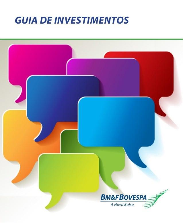 1 Guia de Investimentos