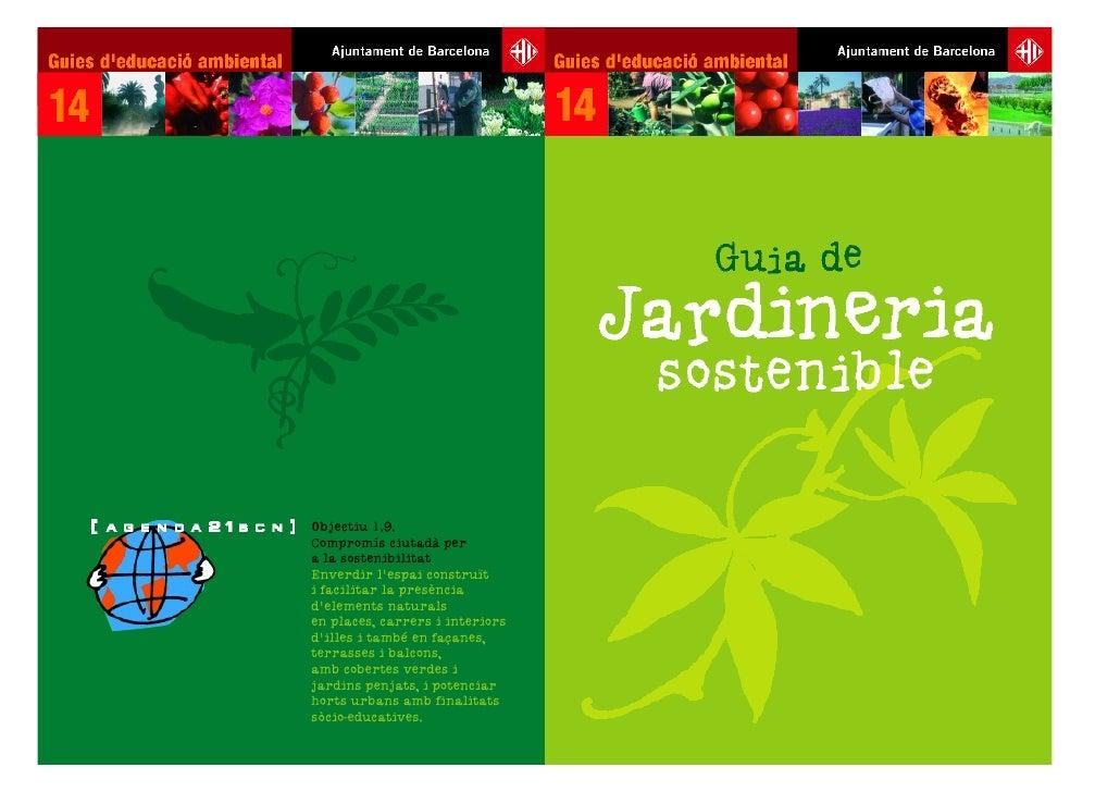 Guia de jardineria sostenible - Guia de jardineria ...