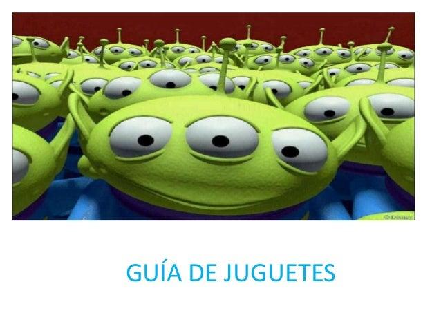 GUÍA DE JUGUETES