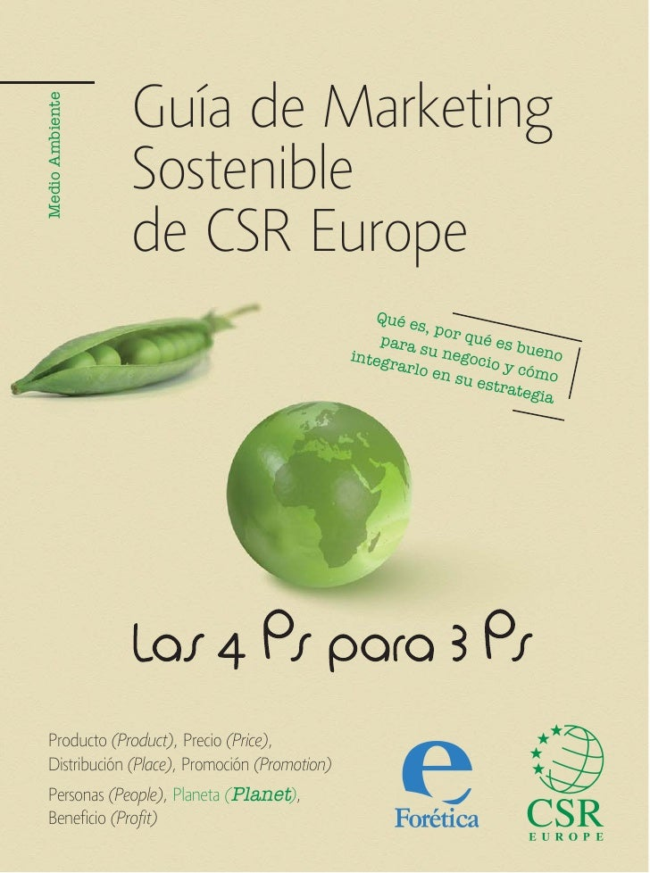 Guía de MarketingMedio Ambiente                 Sostenible                 de CSR Europe                                  ...