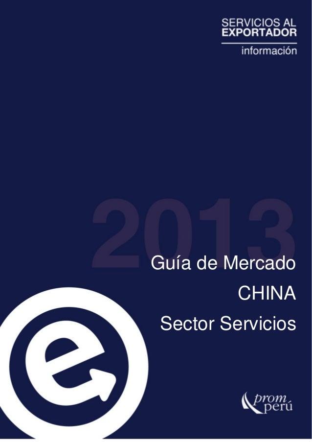SIICEX Guia de mercado China