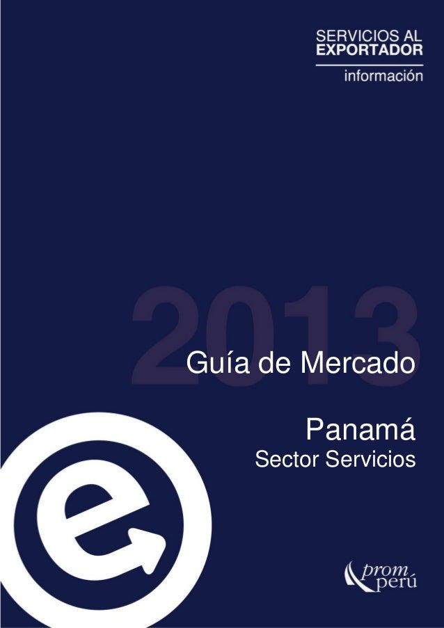 PanamáSector ServiciosGuía de Mercado