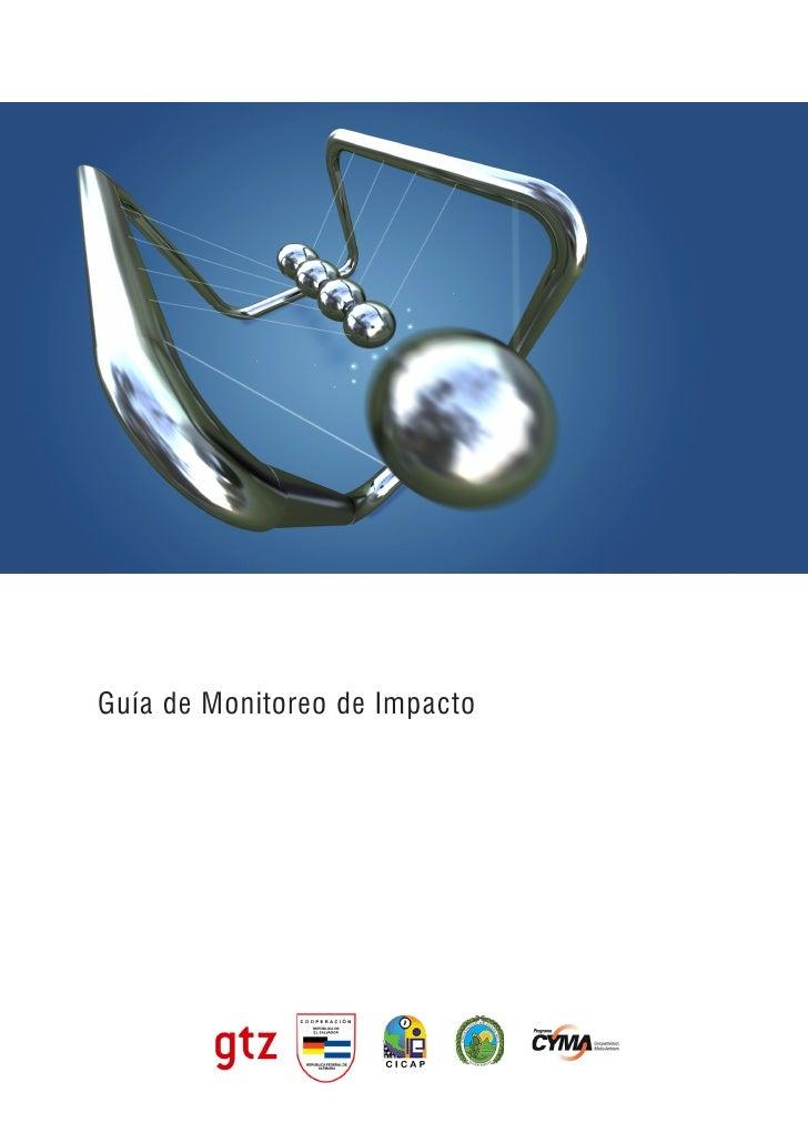Guía de Monitoreo de Impacto