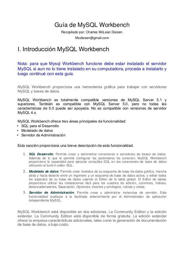 informacion work bench: