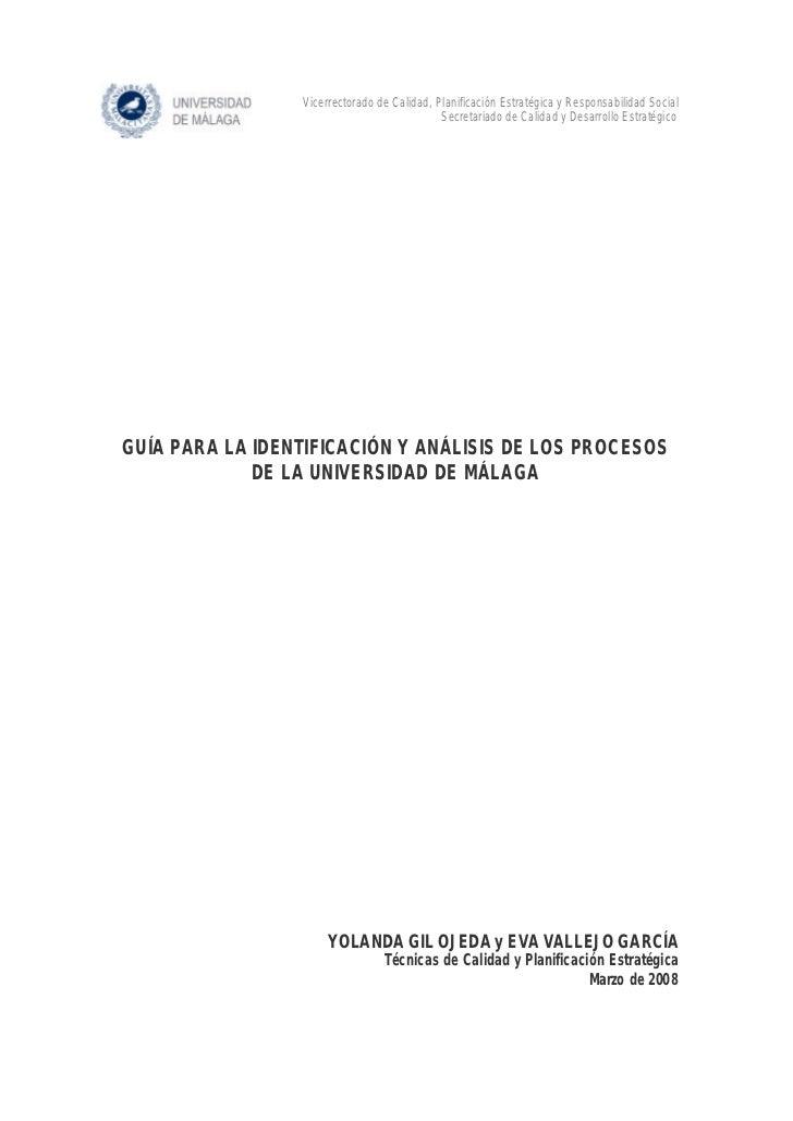 Vicerrectorado de Calidad, Planificación Estratégica y Responsabilidad Social                                             ...