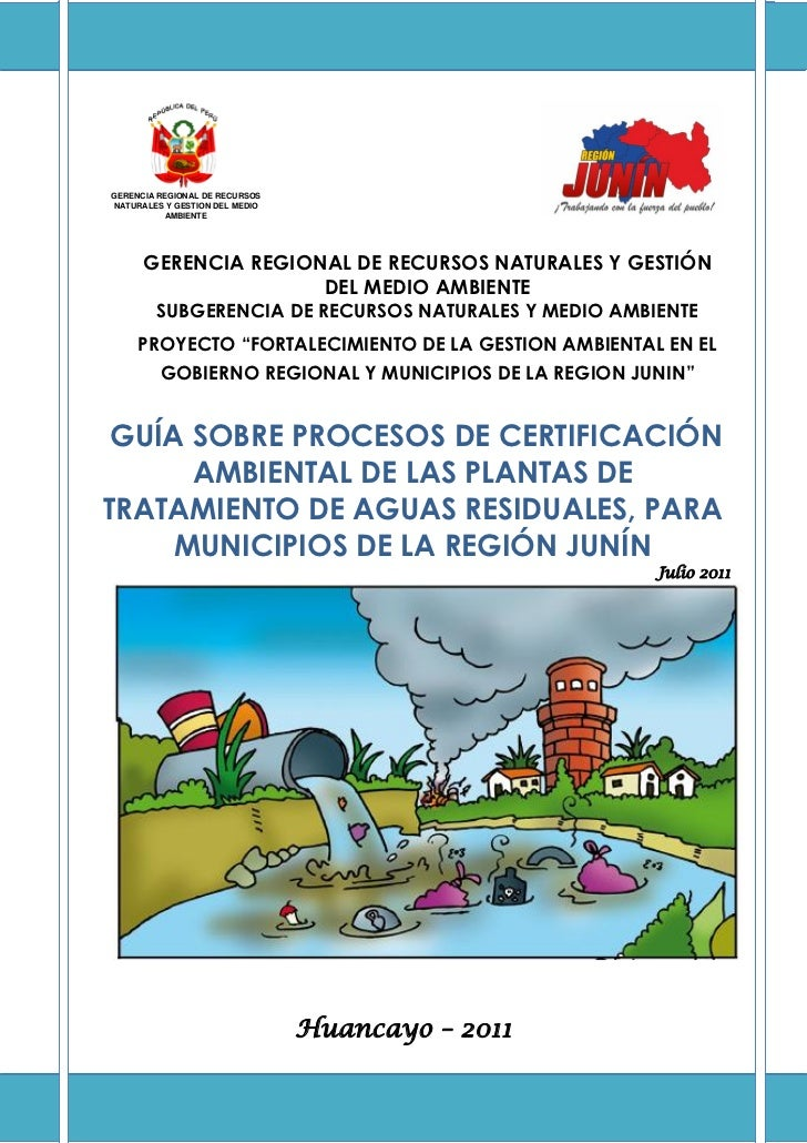 GERENCIA REGIONAL DE RECURSOSNATURALES Y GESTION DEL MEDIO           AMBIENTE      GERENCIA REGIONAL DE RECURSOS NATURALES...