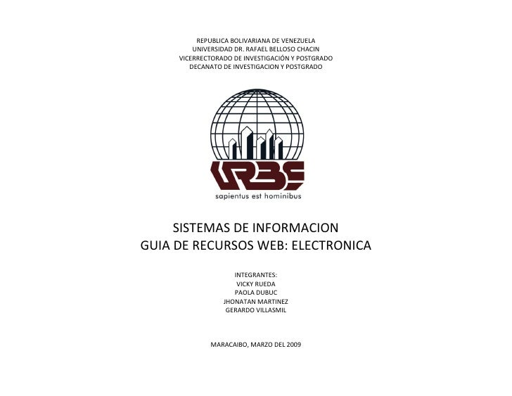 Guia De Recursos Web Electronica