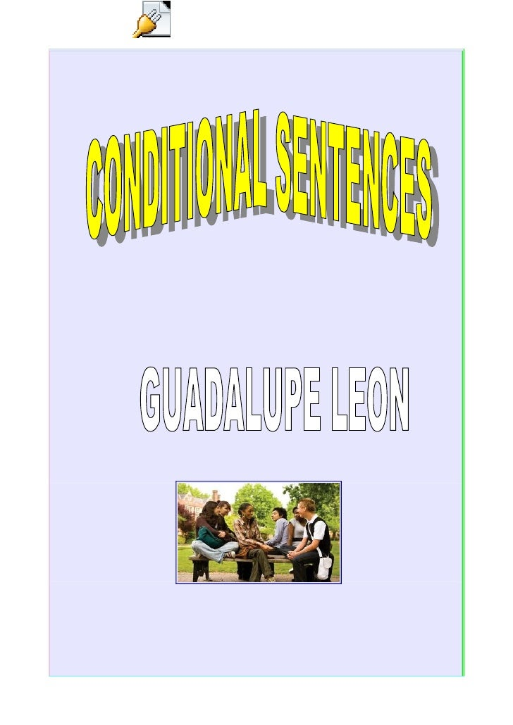 CONDITIONAL SENTENCES (RULES AND EXERCISES)