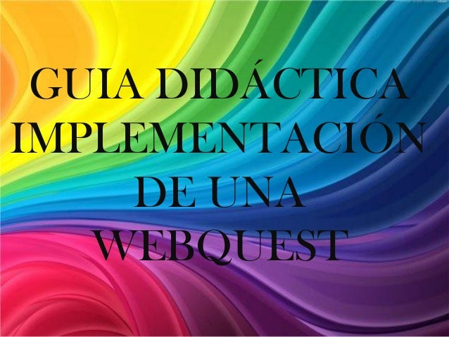 disenar web quest: