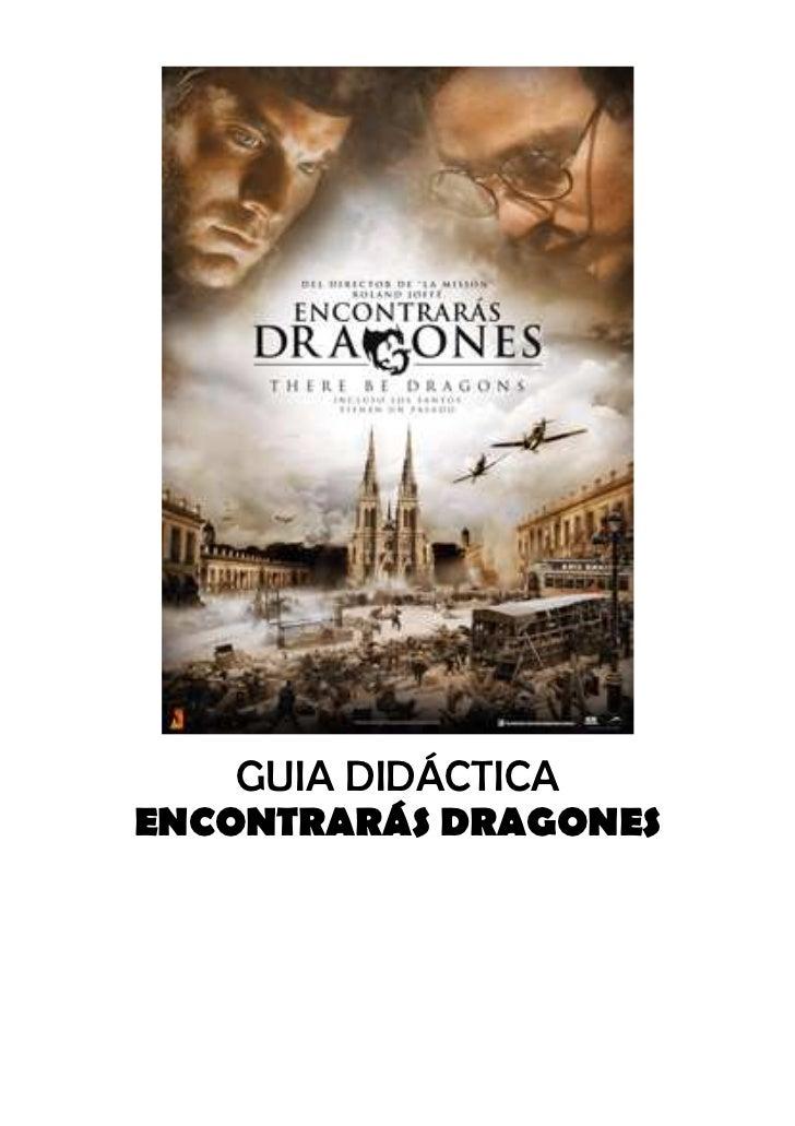 """Guia didáctica """"Encontrarás dragones"""""""