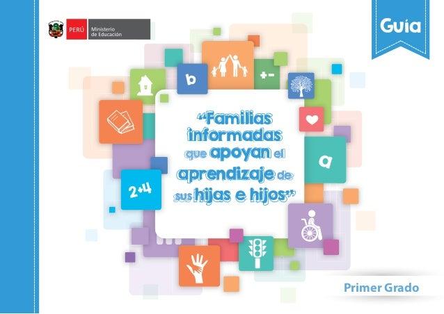 Guia de padres de familia para el apoyo del aprendizaje de sus hijos