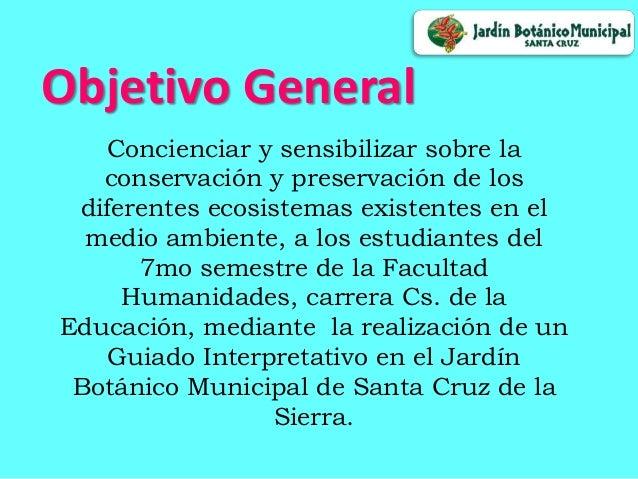 Jardin botanico de santa cruz de la sierra for Informacion sobre el jardin botanico