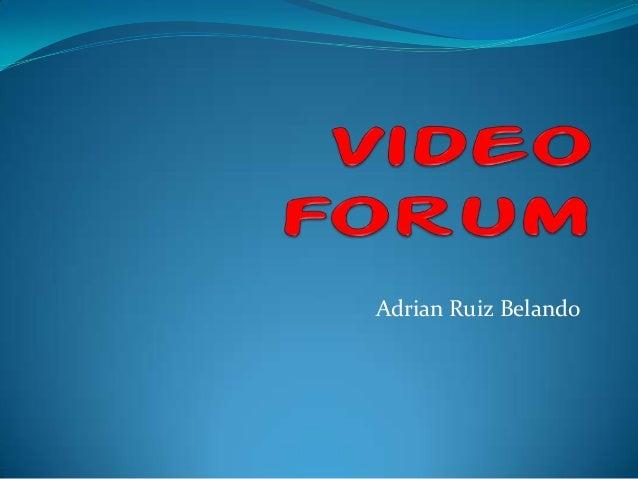 Adrian Ruiz Belando