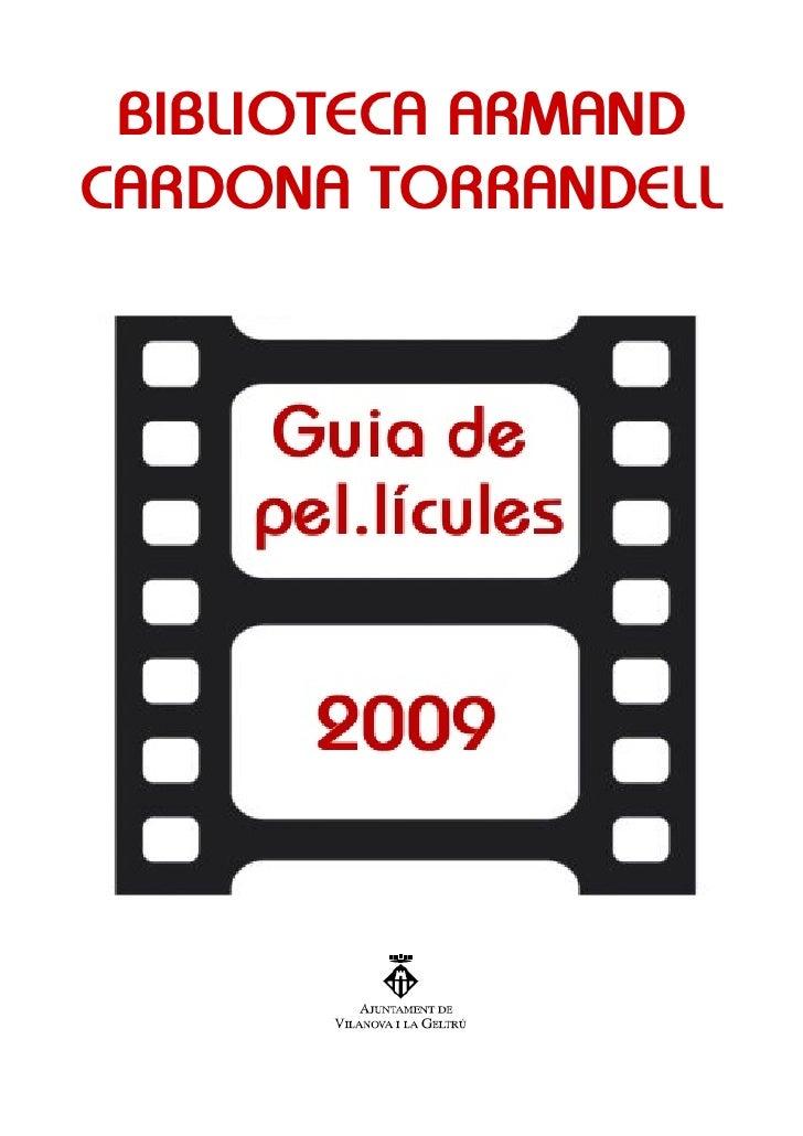 Guia de pel·lícules 2009