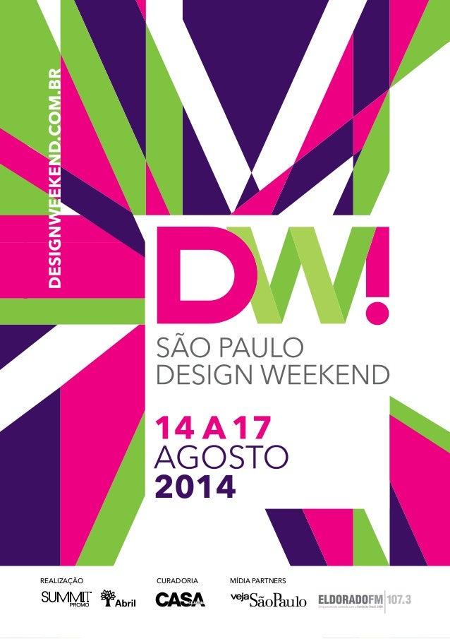 Guia Design Weekend São Paulo 2014