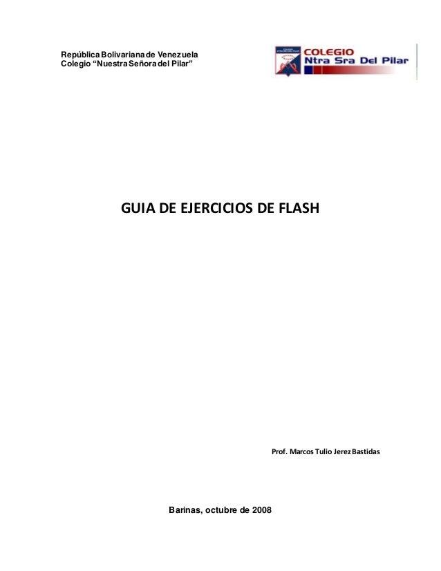 Guia ejercicios flash