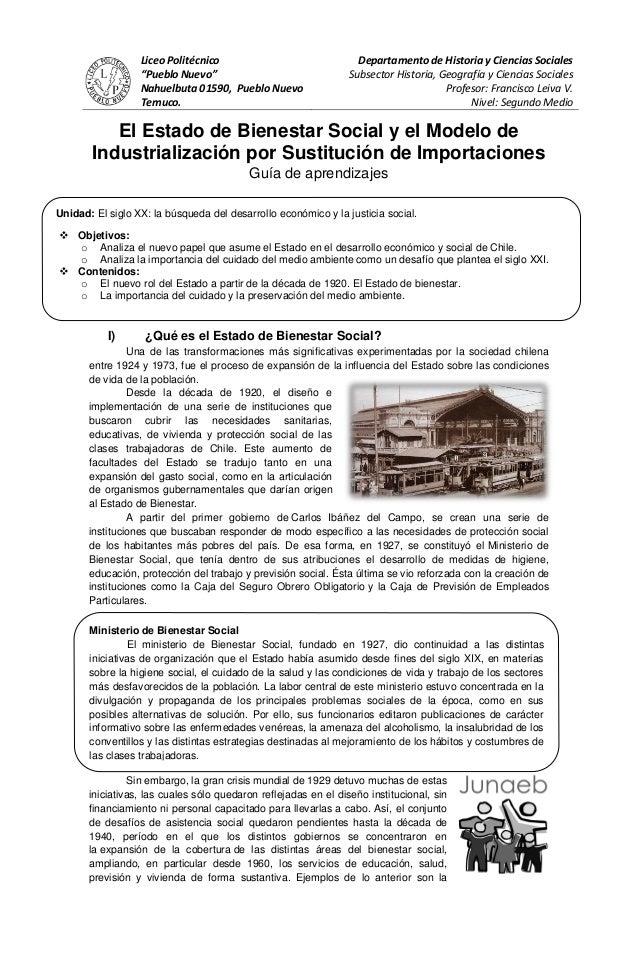 """Liceo Politécnico                               Departamento de Historia y Ciencias Sociales                  """"Pueblo Nuev..."""