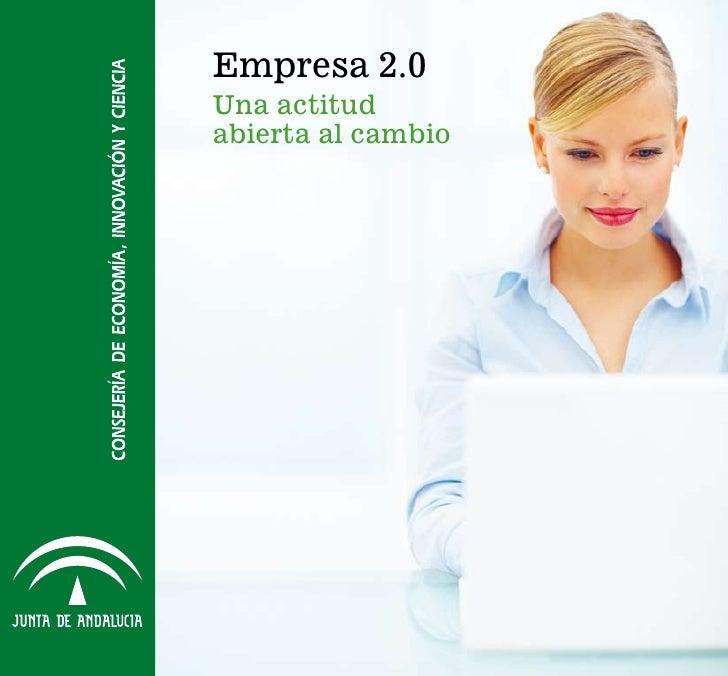 Empresa 2.0Una actitudabierta al cambio