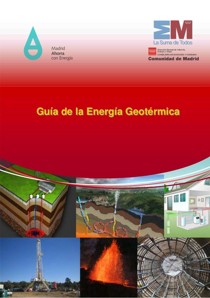 Guía de la Energía Geotérmica