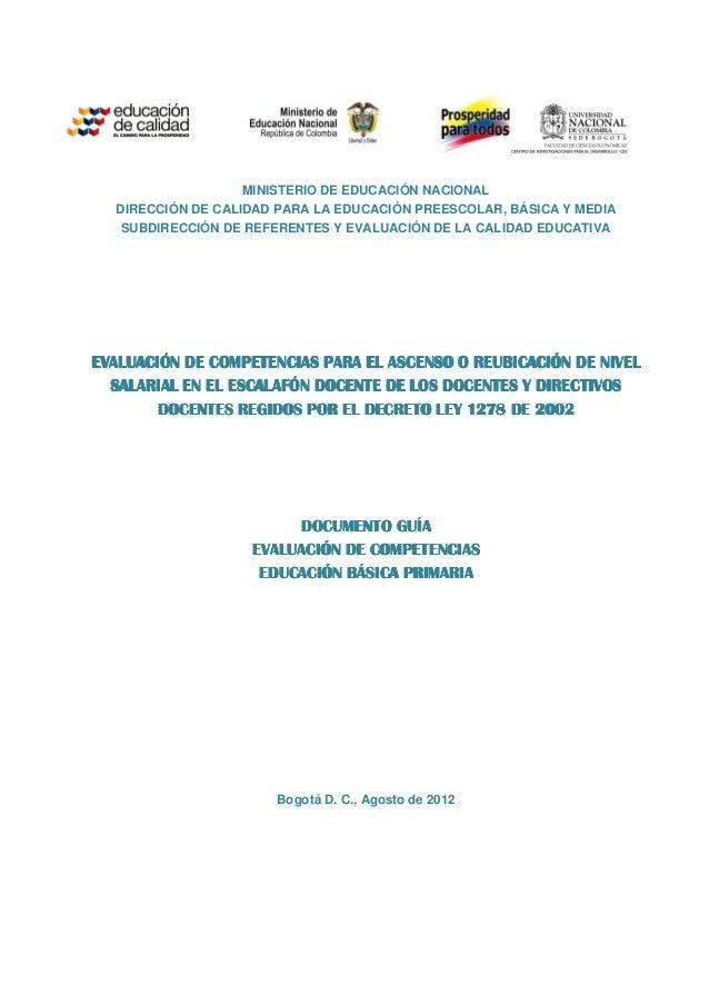 Guia eval comp 2012 primaria