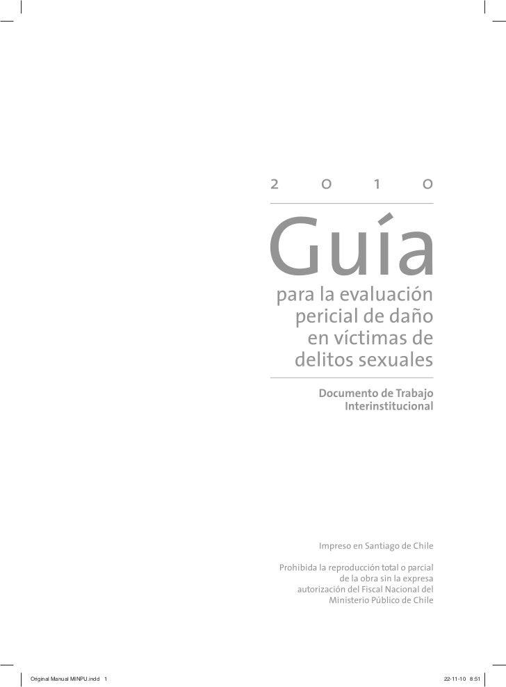 Guia evaluación pericial 2010