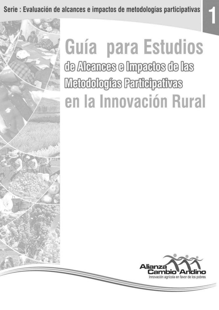 Guia Evaluacion Impacto Metodologias Participativas