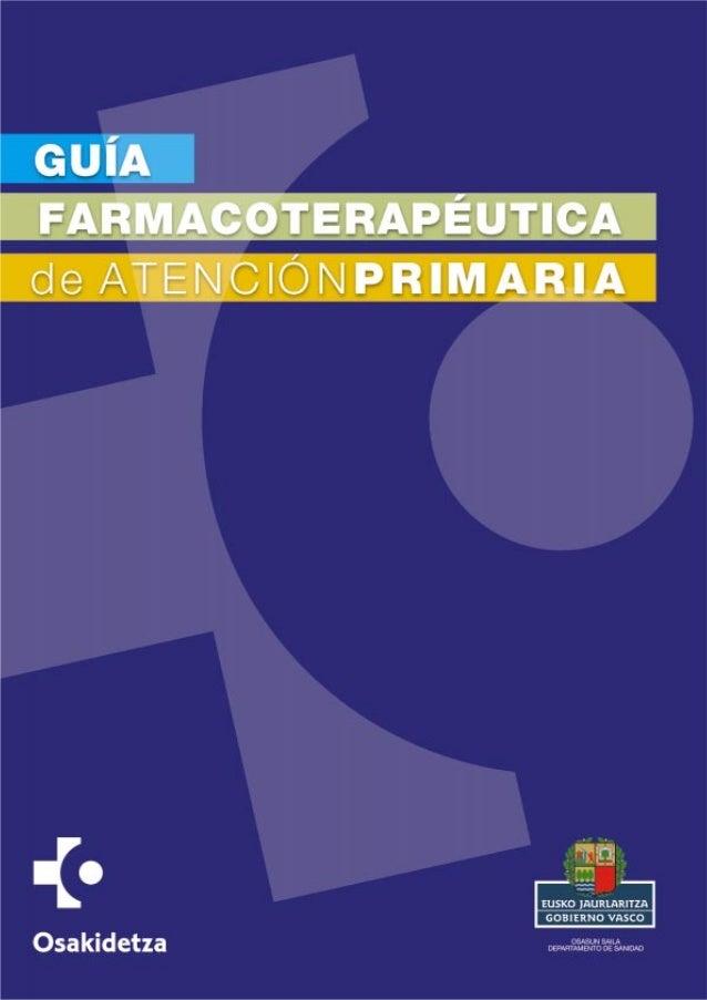 © Osakidetza Edita: Osakidetza C/Álava, 45 01006 VITORIA-GASTEIZ ISBN: 978-84-690-71-64-9