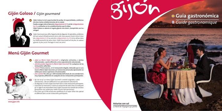 Guía Gastronómica de Gijón Castellano/Francés