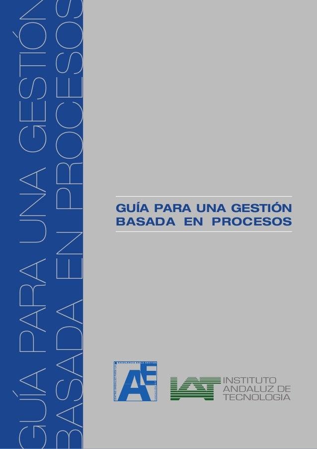 Guia gestión procesos