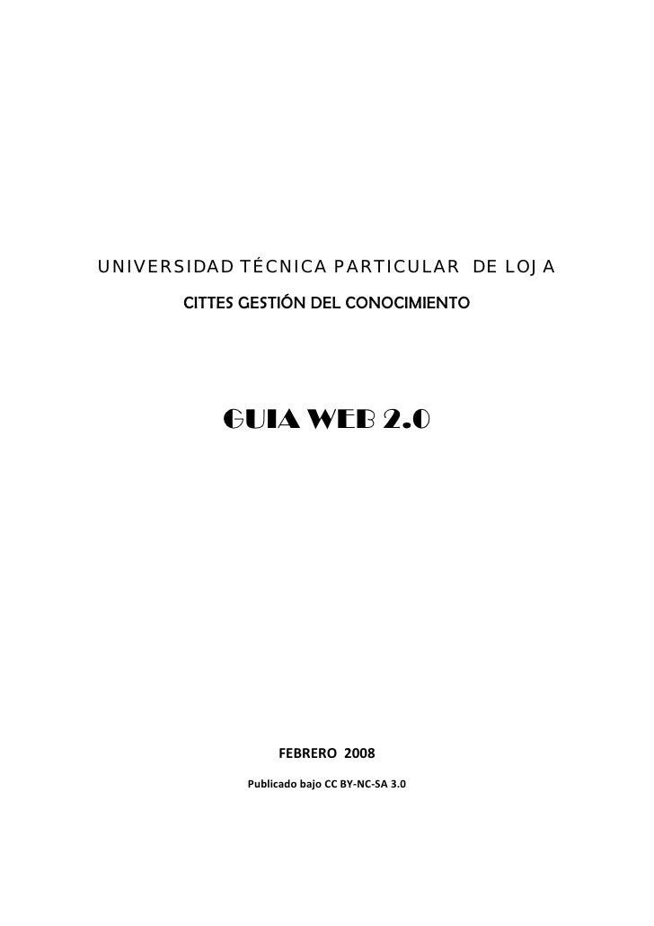 Guia Herramientas Web20