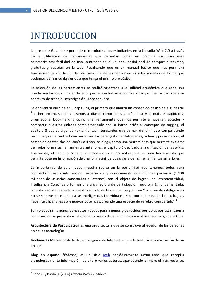 Herramientas Con Filosofia Web 2.0 en la Filosofía Web 2.0 a