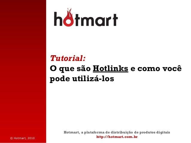 Hotmart: Tutorial sobre Hotlinks