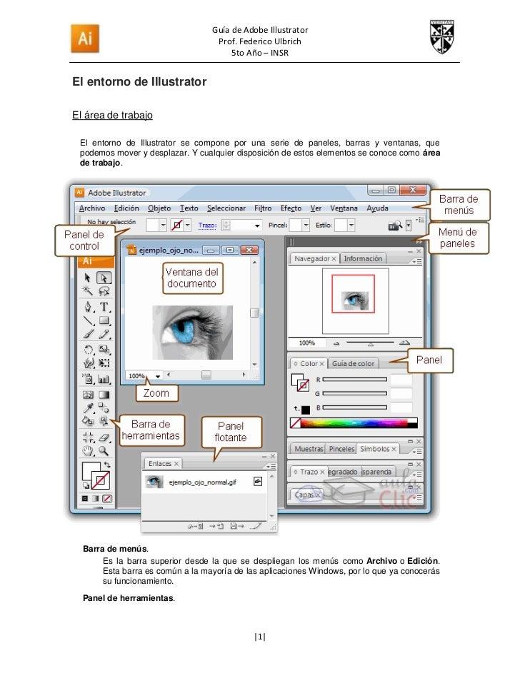 Guía de Adobe Illustrator                                   Prof. Federico Ulbrich                                       5...
