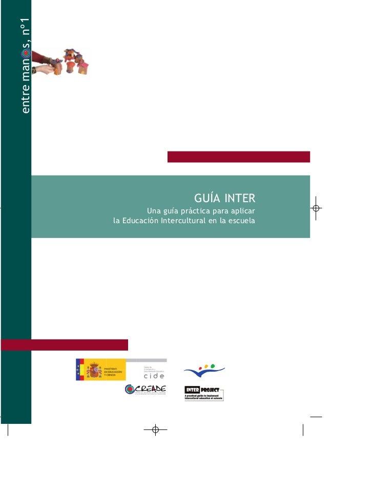 entre man s, nº 1                                          GUÍA INTER                             Una guía práctica para a...