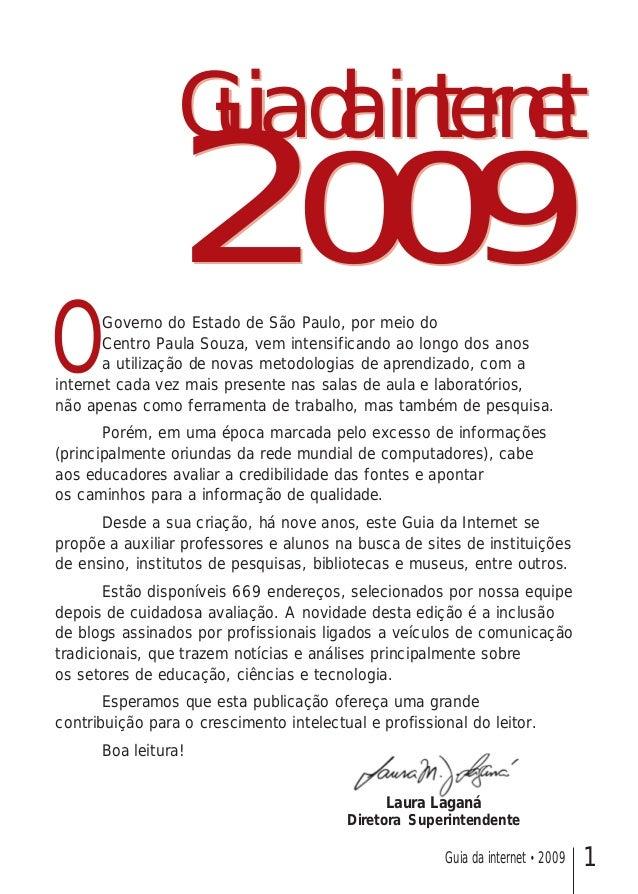 Guia internet 2009