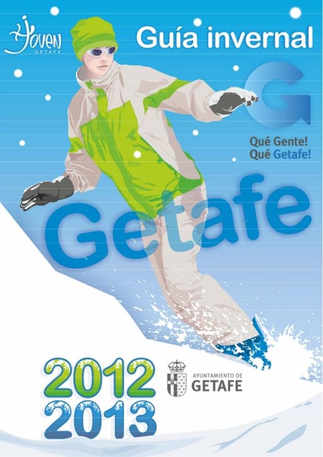 Guía Invernal 2012-13   Página 1