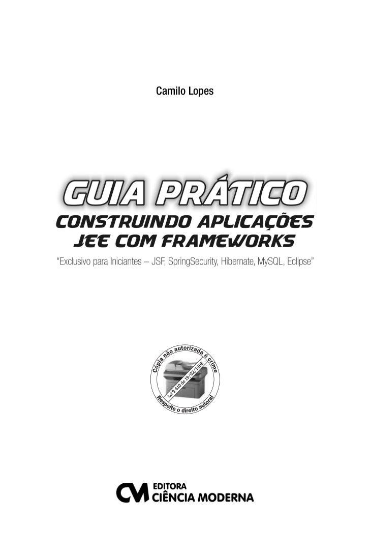 Guia JEE com Frameworks